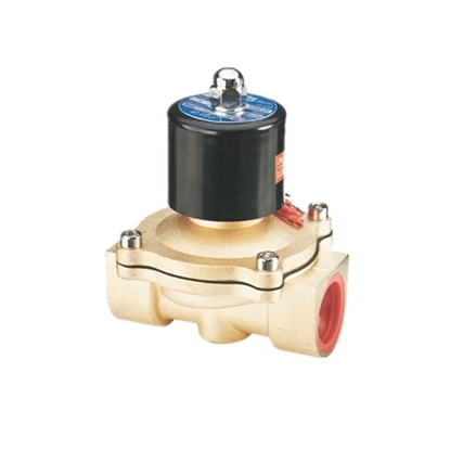 Solenoid Valve, 2 Way, Normally Closed, 12V/24V/220V for air water oil