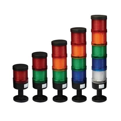 Stack Light, LED/Bulb, DC 24V/AC 110V