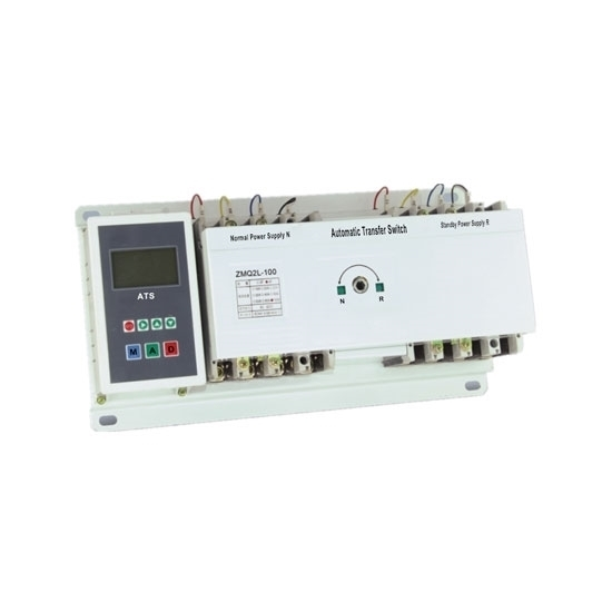 Automatic Transfer Switch, 3/4 Pole, 10/20 to 100 Amps