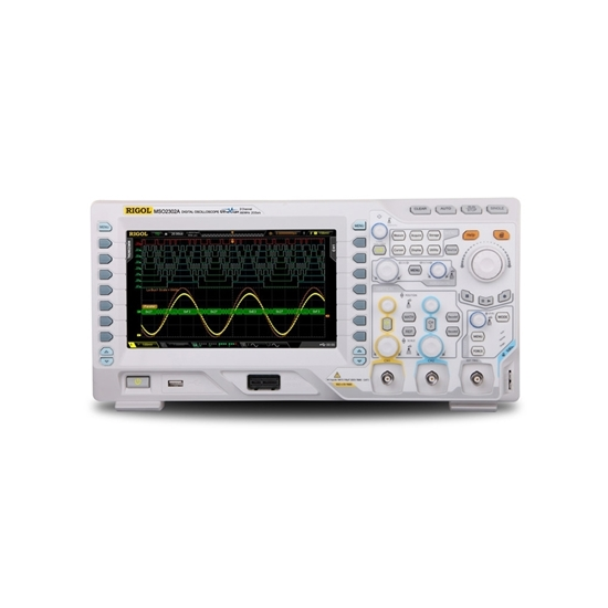 200 MHz Digital Oscilloscope, 2 Channels, 2 GSa/s