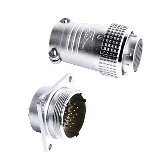 Circular Connector, 2/3/8/16/19/20/24/26 Pin, M30