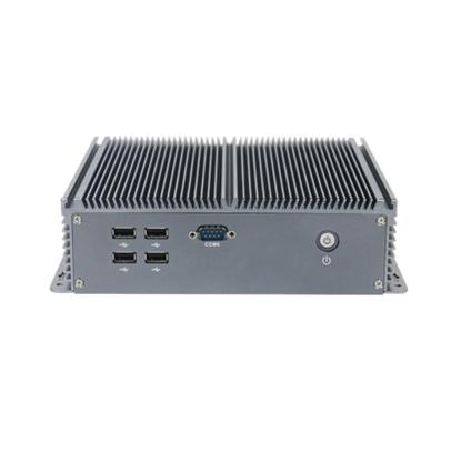 Fanless Embedded Industrial PC, Intel Celeron J1900 quad core CPU