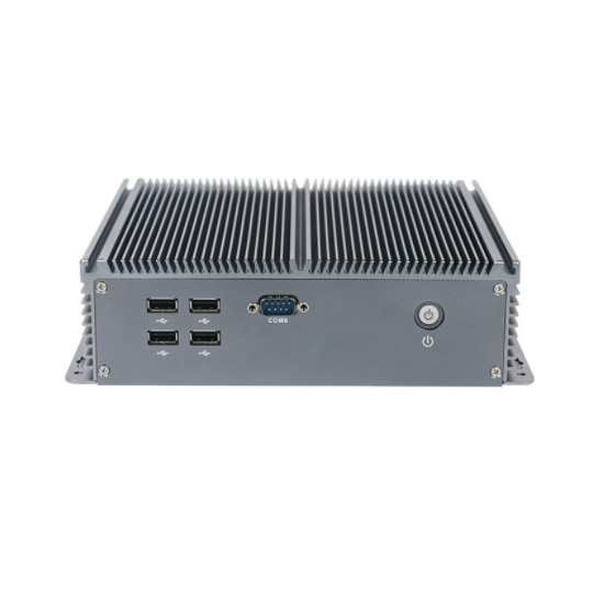 Fanless Embedded Industrial PC, Intel Celeron J1900 quad core CPU