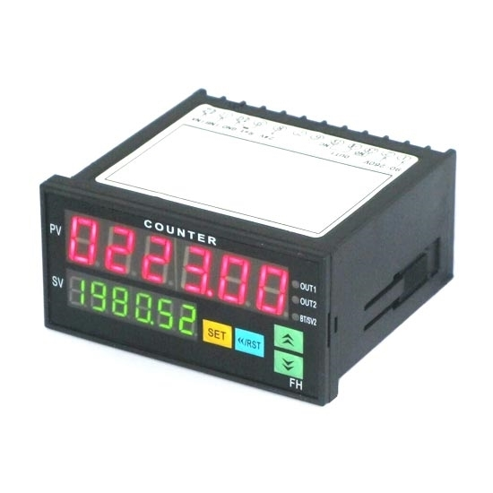 Digital Counter, 6 Digit, Up/Down, Number/Length/Batch