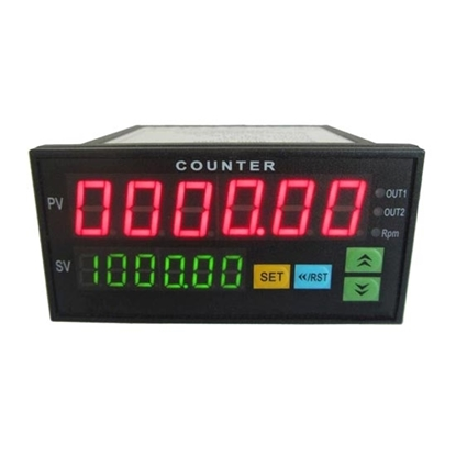 Digital Counter, 6 Digit, Frequency/Rev/Speed