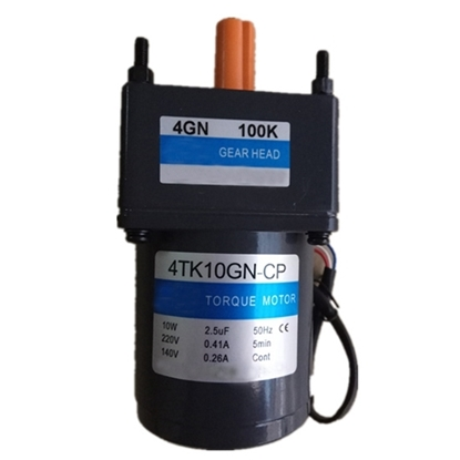 10 W AC Gear Motor, Torque  Motor with Gearbox, single phase