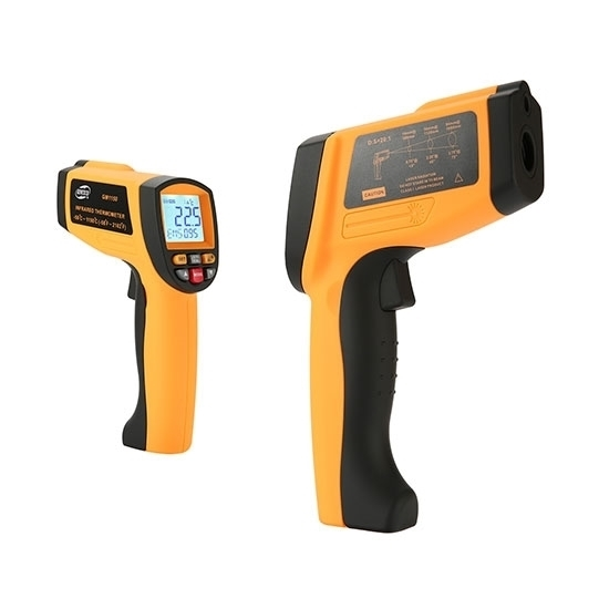Handheld Non-contact High Temperature Digital Infrared Thermometer