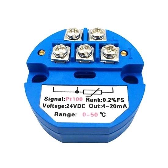 Temperature Transmitter, PT100/E/K/S/B/T/J/N/R Type