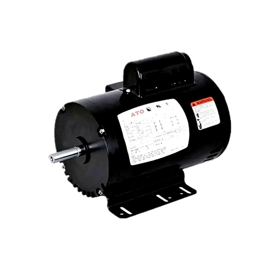 3/4 hp NEMA AC Induction Motor, Split Phase 115/230V, ODP/TEFC