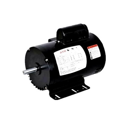 2 hp NEMA AC Induction Motor, Split Phase 115/230V, ODP/TEFC