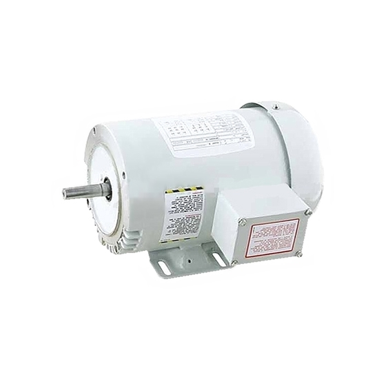 1 hp NEMA AC Induction Motor, Three Phase 230/460V, ODP/TEFC