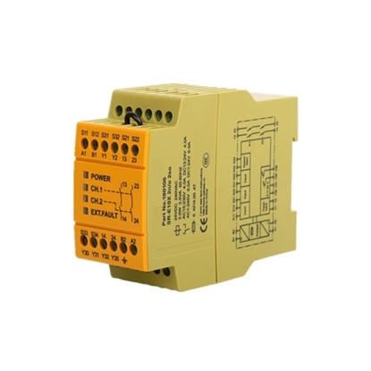 Safety Relay 24V AC/DC 2NO