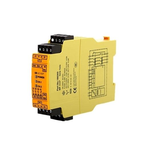 Safety Relay 24V AC/DC 3NO+1NC