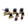 Picture of Solenoid Valve, 2 Way, Normally Closed, 12V/24V/220V for air water oil