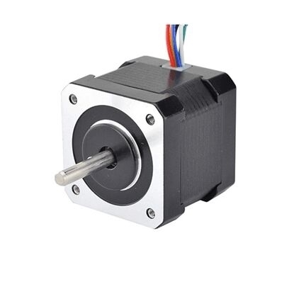 Nema 17 Stepper motor, 4V 0.95A, 1.8 degree, 2 phase 6 wires