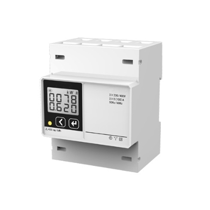 3 Phase DIN Rail Digital Electric Energy Meter
