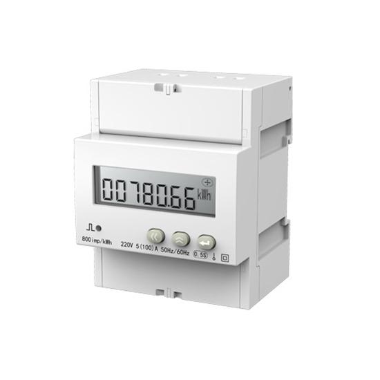 1 Phase DIN Rail Multi-function kWh Energy Meter