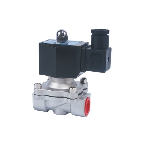 Solenoid Valve, 2 Way, Normally Closed, 12V/24V for air water oil