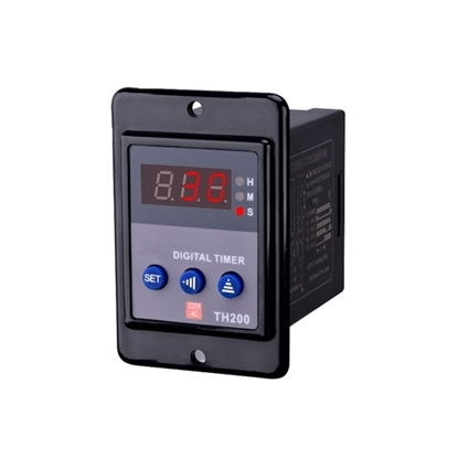 Digital Timer Relay, 8 Pin, 12V/24V/220V