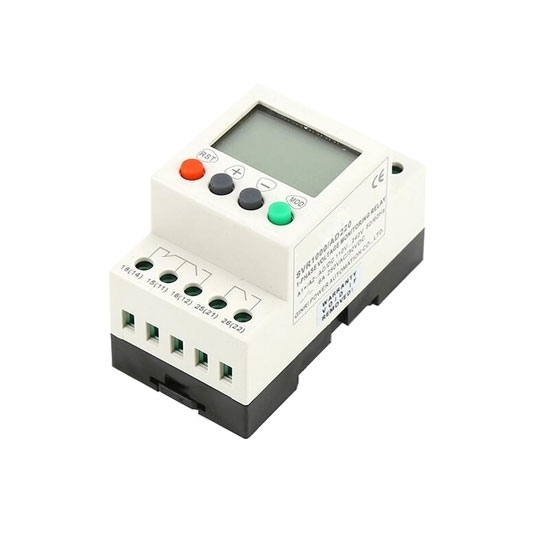 Voltage Monitoring Relay, Under/Over Voltage, 1 Phase, 110-240V AC/DC