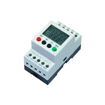 Multifunctional Monitoring Relay, Phase/Voltage, 3 Phase, 208-480V AC