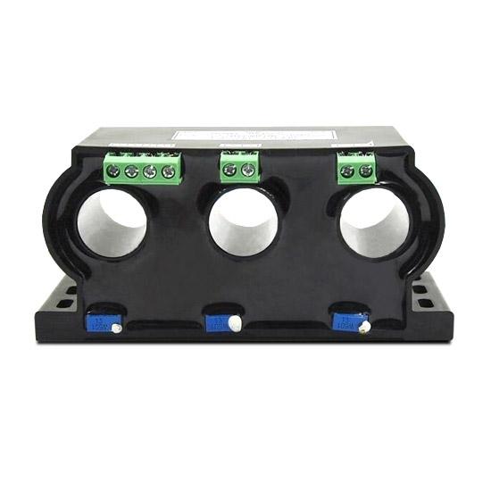 3 Phase AC Current Transducer 0.5A/1A/2A/5A/10A/20A/50A to 80A
