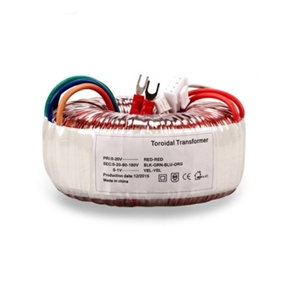 120VA Toroidal Transformer for Audio Amplifier, 110V to 12V