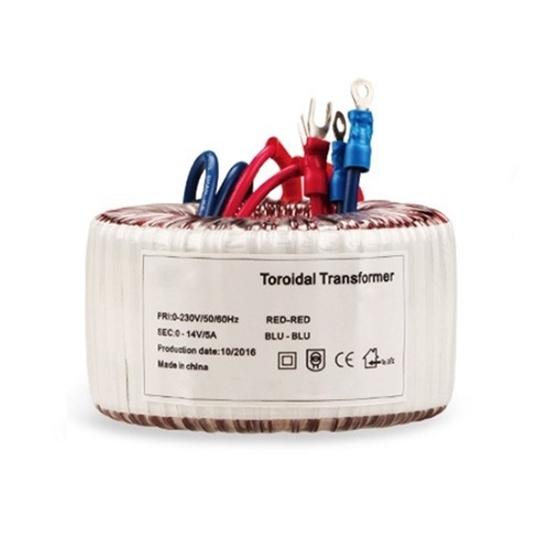 70VA Toroidal Transformer, 110V AC to 12V/35-0-35V