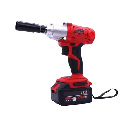 21 Volt 1/2-in Cordless Electric Impact Wrench, Battery Power