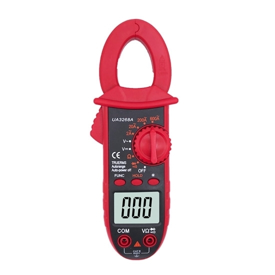 Mini Clamp Meter, AC Current 600A, True RMS Function