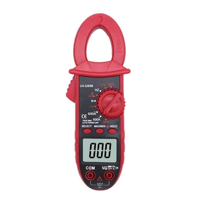 Mini Clamp Meter, AC Current 600A, NCV/TRMS/Capacitance/Temperature Function