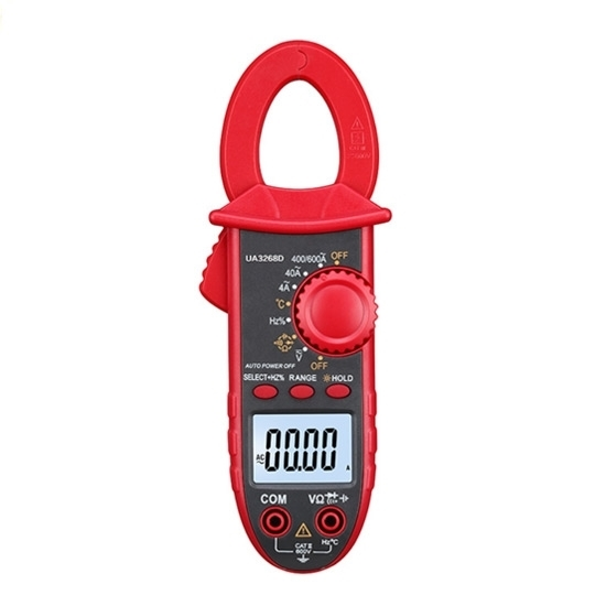 Mini Clamp Meter True RMS AC/DC Current 600 amp