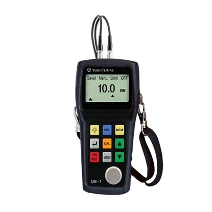 Handheld Ultrasonic Pipe Thickness Gauge, Through Coating