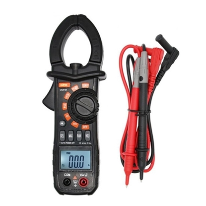 Clamp Meter for True RMS AC Current 600A Measurement
