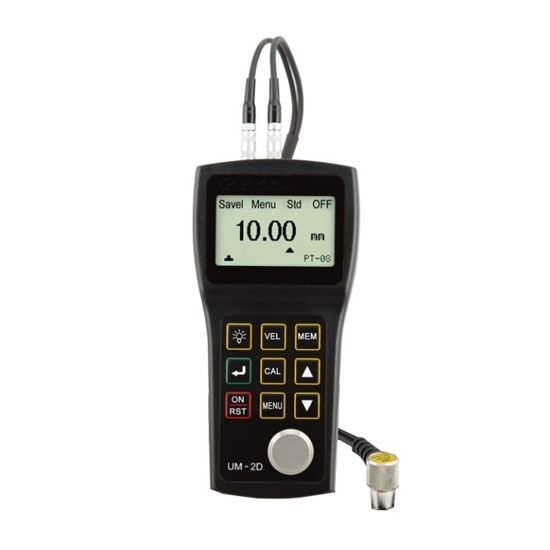 Portable Ultrasonic Pipe Thickness Gauge, Through Paint
