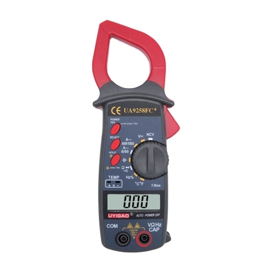 Digital Clamp Meter AC 600A with Temperature/TRMS/NCV Function