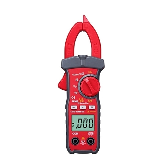 AC/DC Mini Clamp Meter with NCV/TRMS/Temperature/Capacitance