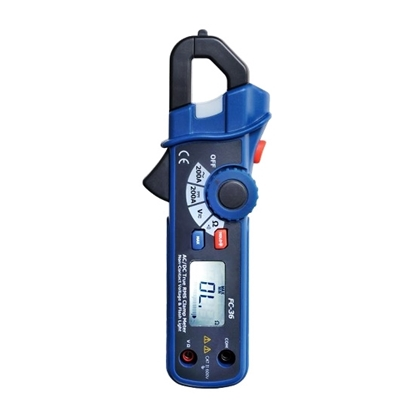 AC/DC Current Clamp Meter 200A with NCV/Analog Display Function