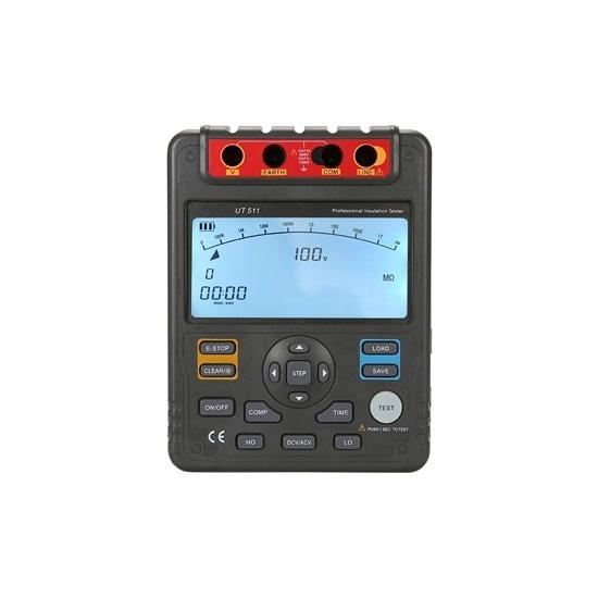 Megger Insulation Tester, 100V/250V/500V/1000V