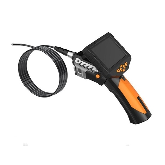 """Industrial Endoscope, 4.3"""" LCD, 5.5mm Probe, 720P"""