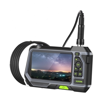 "Industrial Endoscope, 5"" LCD, 5.5mm Dual Lens, 2.0MP"