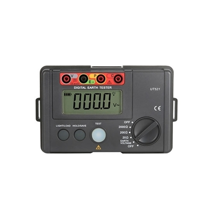 Digital Ground Resistance Tester, 0-2000Ω/4000Ω