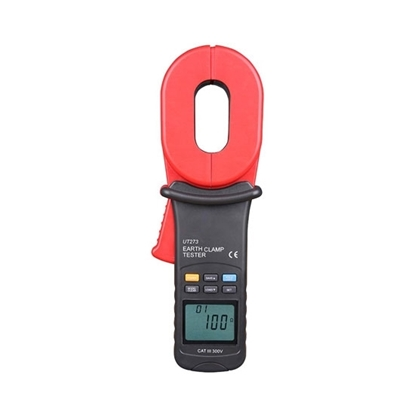 Clamp-on Ground Resistance Tester, 0.01-1000Ω