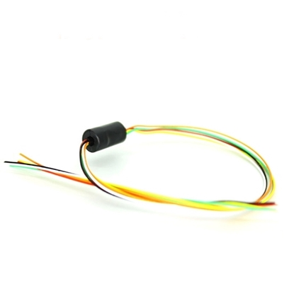 Electrical Miniature Slip Ring, 4/6/8/12 Wires, 1A, 6.5mm