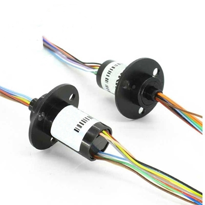 12.5mm Miniature Slip Ring, 2/4 Wires 5A, 6/12/18 Wires 2A