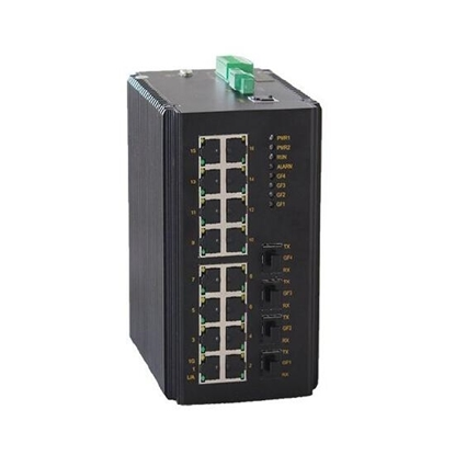 20 Port Full Gigabit Managed Industrial Switch