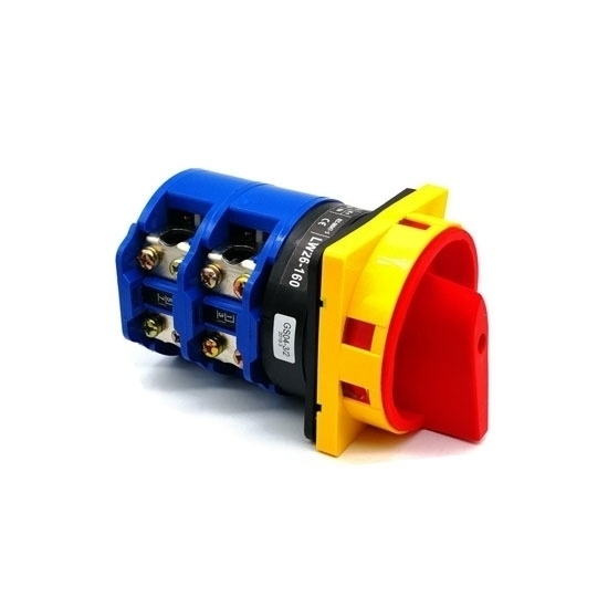 2 Position 63A Rotary Switch, 4 Pole