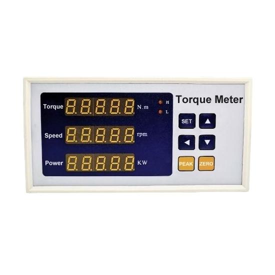 Digital Torque Meter for Dynamic Torque/Speed/Power, 5 digit