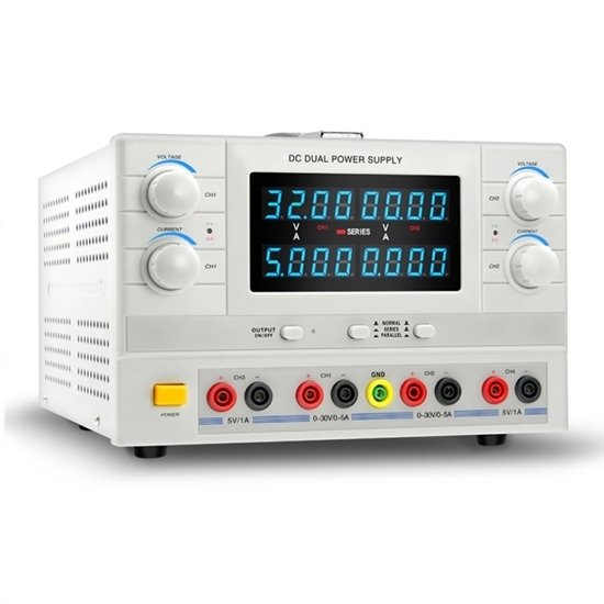 5A 30V Variable DC Power Supply, 4-Channel Output