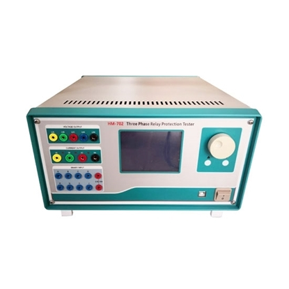 3 Phase Relay Tester, Microcomputer Control